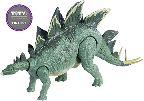 - Jurassic World Action Attack Stegosaurus Figure
