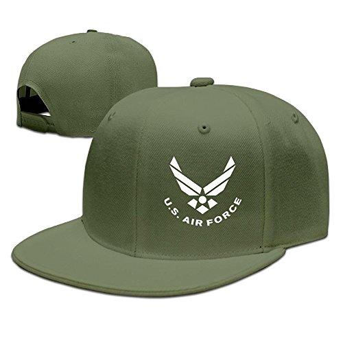 BDHESR US AIR FORCE Snapback Hats For Men Funny Hip-hop Flat Bill Hats Fitted Hats For Men