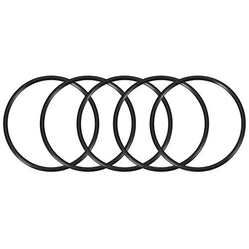 5 O-rings 82mm x 90mm x 4mm para bombas y filtros de agua