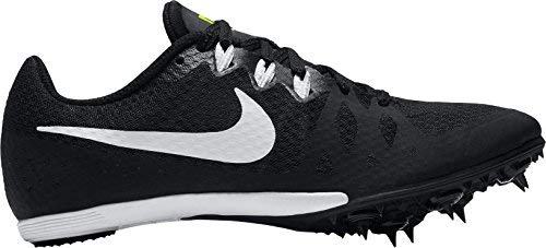 (NIKE Women's Zoom Rival MD 8 Track and Field Shoes (Black/White, 6.0 B(M) US))