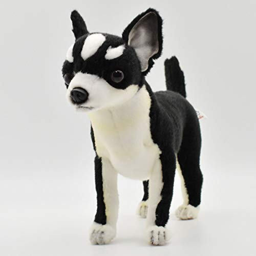Hansa Chihuahua Plush, Black/White