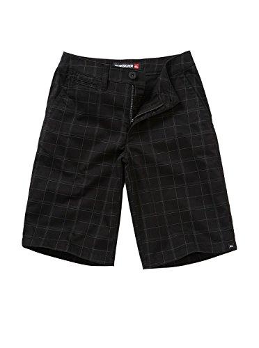 Quiksilver Big Boys' Union Surplus Short, Black, 23/10/Small