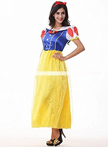 Snow White Dress Costume Halloween Ladies No Brand Item