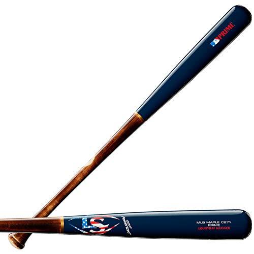 Louisville Slugger 2019 MLB Prime Maple C271 Patriot Baseball Bat, 32
