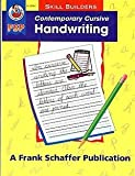 Contemporary Cursive Handwriting, Schaffer, Frank Publications, Inc. Staff and School Specialty Publishing Staff, 0867349387