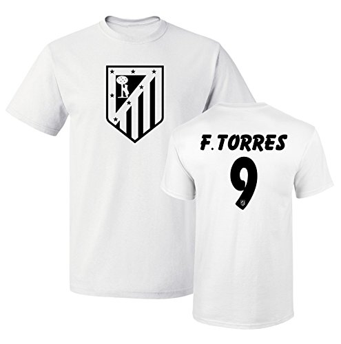 3f9bc9d43 Tcamp Atletico Madid Shirt Fernando Torres  9 Jersey Men T-shirt