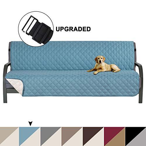 Reversible Sofa Furniture Cover, Futon Cover for Dogs, Pet Cover for Futon, Futon Slipcover, Futon Protector, Machine…