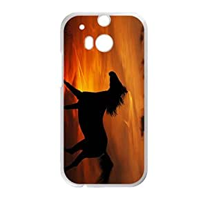 Glam Sunset Horse High Quality Custom Protective Phone Case Cove For HTC M8