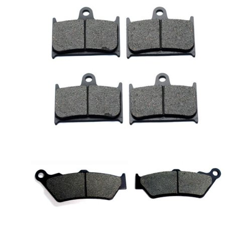 2011-2015 Triumph Rocket III Roadster 2300 Front & Rear Brake Pads