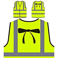 Fashion Neckties Funny Vintage Art City Personalized Hi Visibility Yellow Safety Jacket Vest Waistcoat ww58v
