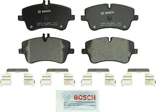 Bosch BP872 QuietCast Premium Semi-Metallic Disc Brake Pad Set For Select Mercedes-Benz C200, C230, C240, C280, C320, C350, CLK280, CLK320, CLK350, SLK280, SLK300; Front