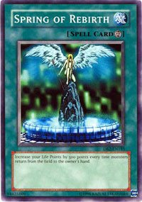 Amazon.com: Yu-Gi-Oh! - Spring of Rebirth (DB2-EN185) - Dark ...