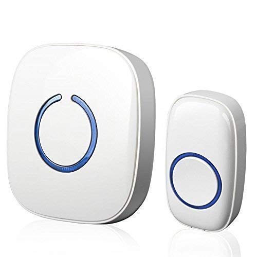 SadoTech Model C Wireless Doorbell Operating at over 500-feet Range with Over 50 Chimes
