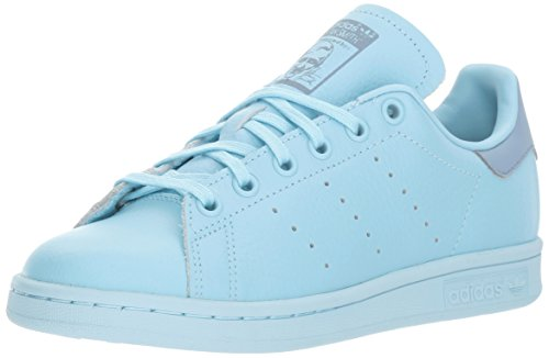 adidas Originals Boys' Stan Smith J Running Shoe, ICE Tactile Blue, 7 Medium US Big Kid