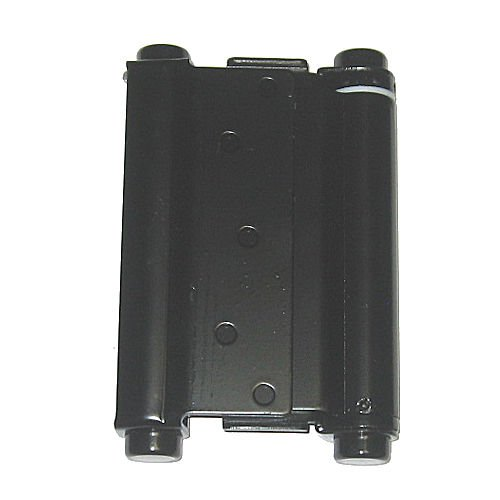 Ultra Hardware 6 Inch Hinge Double Action Spring Black 2.6mm