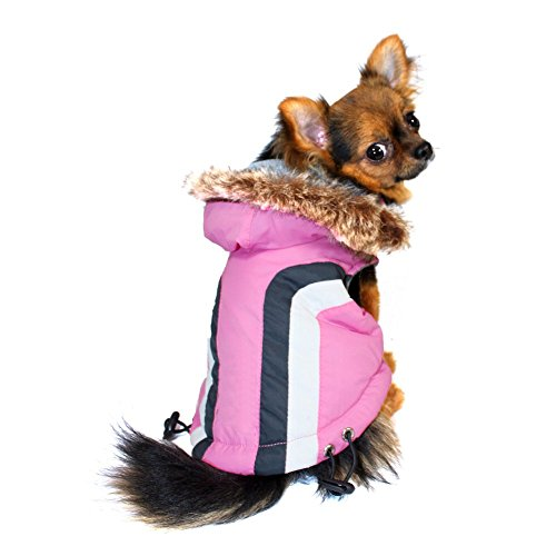 Hip Doggie Swiss Alpine Ski Vest - Pink