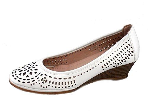 Rebelde - Zapato Vidriera para mujeres BLANCO