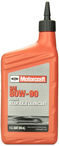 Genuine Ford Fluid XY-80W90-QL SAE 80W-90 Premium Rear Axle Lubricant - 1 (Premium Gear Oil)