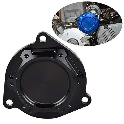 Nicecnc Black Aluminium Alloy Starter Idle Gear Cover Crankcase Replace Suzuki DRZ400E,DRZ400S,DRZ400SM 2000-2018,11352-29F50