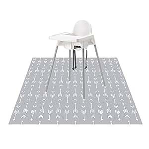 Amazon Com 51 Quot Splat Mat For Under High Chair Arts