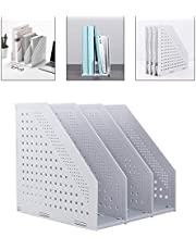 Deli Collapsible Magazine File Holder Desk Organizer for Office Organization and Storage
