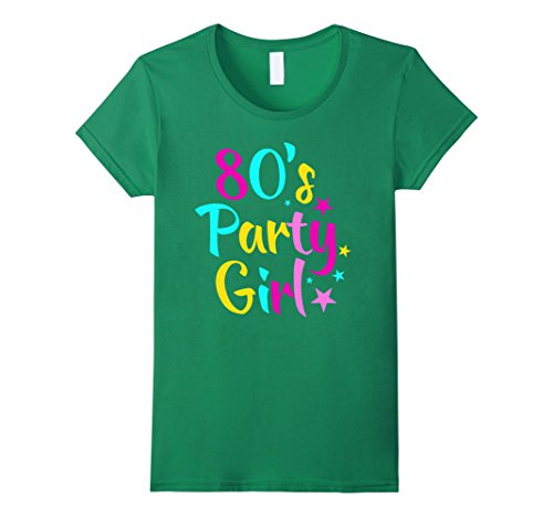 80's Party Girl Retro T-Shirt - 5 colors