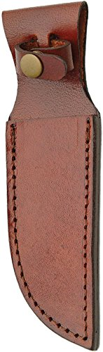Sheaths Brown Leather 5in