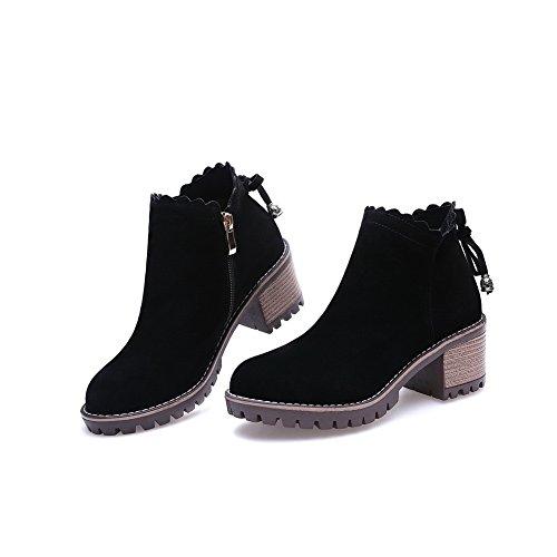 Unknown 1to9mns02439 - Sandales Compensées Pour Femmes, Noir (noir), 35