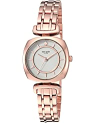 kate spade new york Womens Barrow Quartz Stainless Steel Casual Watch, Color:Rose Gold-Toned (Model: KSW1322)