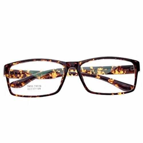 JCERKI Tortoiseshell Lightweight Frame Nearsighted Myopia Distances Glasses - 3.25 Men Women Fashion Lightweight Distances Eyeglasses 23 Strengths Available **These are not reading - Tortoiseshell Spectacle Frames