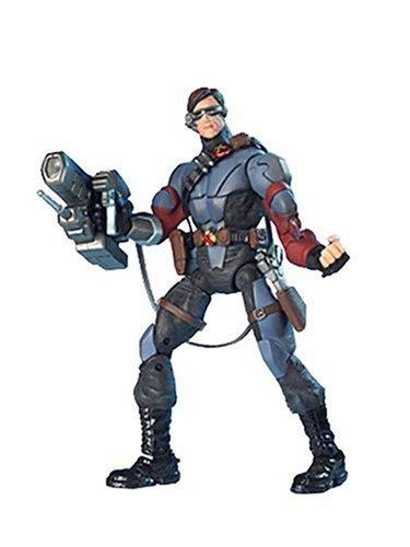 Toy Biz X-Men Action Figure Asst. 2:Stealth Cyclops w/ Light-Up Visor & Cannon ()