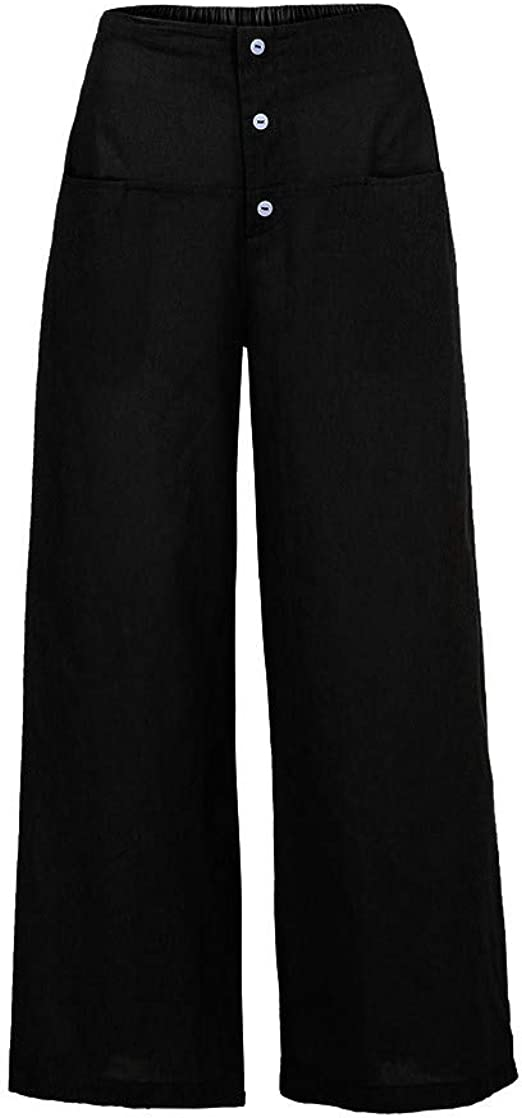 WOMENS LADIES STRIPED 3//4 PALAZZO WIDE LEG TROUSERS BELTED CULOTTES STYLE PANTS