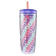 Bubba 1965875 Envy Tumbler, 24-Ounce, Circle Graphic, Purple