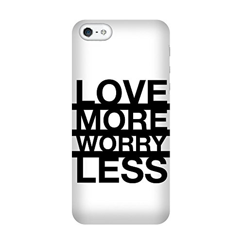 iPhone 5/5S Coque photo - Worry Moins