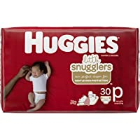 HUGGIES Premmie Nappies (up to 3kg) 30 Count