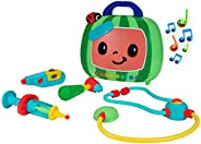 Cocomelon Musical Checkup Case, Plays 'Doctor Checkup' Song – Includes 4 Themed Medical Doctor Accessories (Th