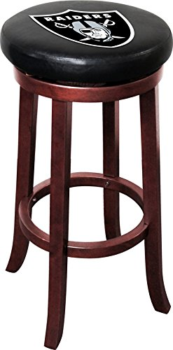 Imperial Officially Licensed NFL Furniture: Wooden Bar Stool, Oakland Raiders for $<!--$149.99-->