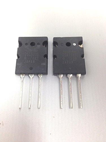 2SA1943 A1943 and 2SC5200 C5200 Toshiba Transistor set of 1pcs each
