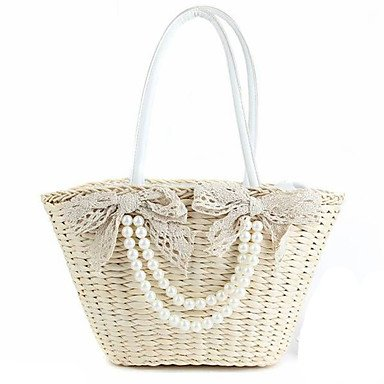 AMEA Women Straw handbag straw handbags with zipper closure straw handbag