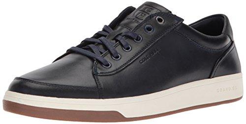 Cole Haan Mens Grandpro Spectator Pizzo Bue Sneaker Navy Handstain