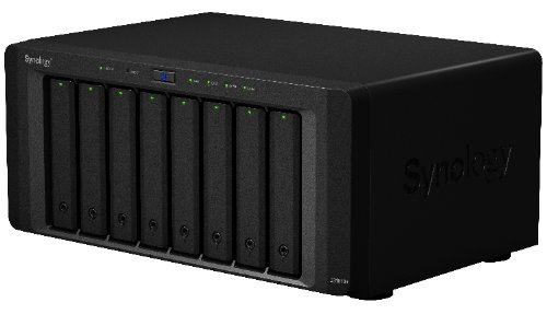 Synology DiskStation 8-Bay Diskless Network Attached Storage (DS1813+)