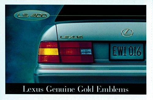 2000 Lexus LS400 ORIGINAL Factory Postcard by Lexus