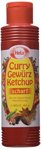 Hela Curry Gewurz Ketchup Hot, 16 oz
