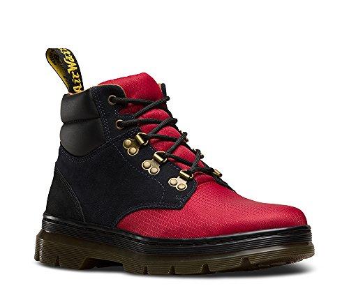 Dr Marten Hiker Boots - Dr. Martens Unisex Rakim Waterproof Ripstop Hiker Boots, Multicoloured Suede, Nylon, 9 M UK, M10/W11 M US