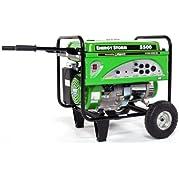 Lifan Energy Storm ES5500-CA 5500 Watt Lifan 11 HP OHV 337cc 4-Stroke Gas Powered Portable Generator with Wheel...