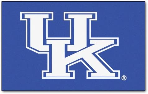 FANMATS NCAA University of Kentucky Wildcats Nylon Face Ultimat Rug