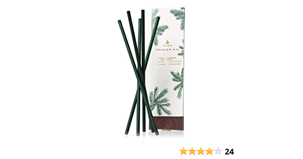 Thymes Green Coloring 14 Reeds Frasier Fir Green Reed Refill