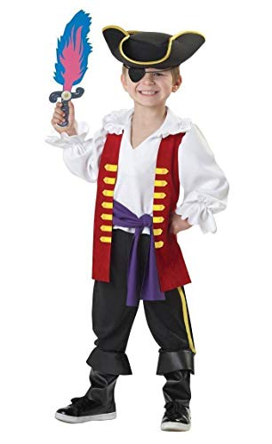 The Wiggles Captain Feathersword Pirate Toddler Costume