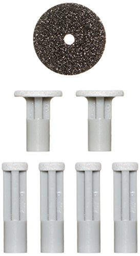 PMD Personal Microderm Very Sensitive Replacement Discs - Includes 4 Small Grey Discs for Face, 2 Large Grey Discs for Body, and 1 Filter - For Use With Classic, Plus, Pro, and Man
