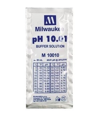 Milwaukee pH Tester Calibration 10.01 Solution - Lot of 3
